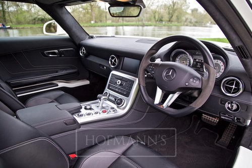 2012 SLS AMG Coupe Gullwing  SOLD (picture 4 of 6)