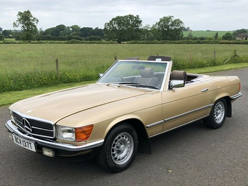 1979 MERCEDES 280 SL  SOLD (picture 1 of 6)