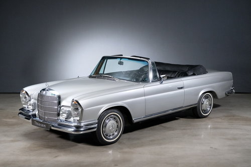 1968 MERCEDES BENZ 280 SE Cabriolet For Sale (picture 1 of 6)