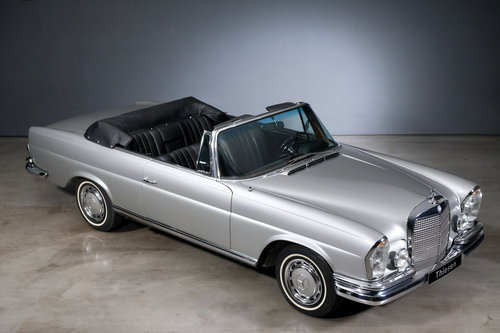 1968 MERCEDES BENZ 280 SE Cabriolet For Sale (picture 2 of 6)
