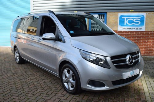 2015 Mercedes V220 SE Euro6 CDI 8-Seater in First Class Luxury! SOLD (picture 1 of 6)