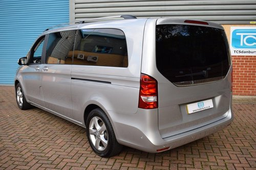 2015 Mercedes V220 SE Euro6 CDI 8-Seater in First Class Luxury! SOLD (picture 2 of 6)