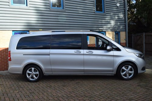 2015 Mercedes V220 SE Euro6 CDI 8-Seater in First Class Luxury! SOLD (picture 3 of 6)