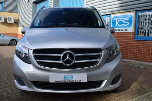 2015 Mercedes V220 SE Euro6 CDI 8-Seater in First Class Luxury! SOLD (picture 4 of 6)
