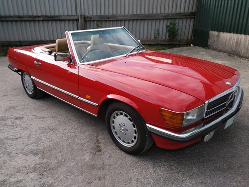 Mercedes 300SL Roadster 3.0 Litre 6 Cyl – 1986C For Sale (picture 1 of 6)