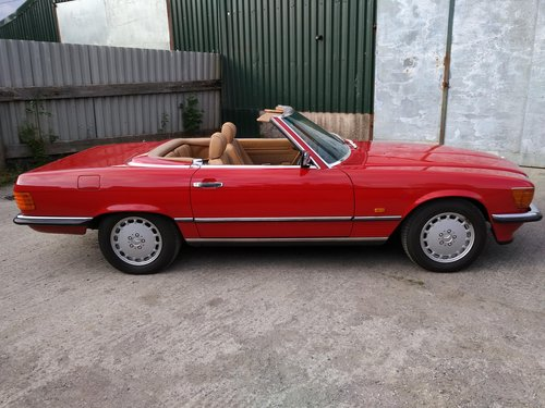 Mercedes 300SL Roadster 3.0 Litre 6 Cyl – 1986C For Sale (picture 2 of 6)
