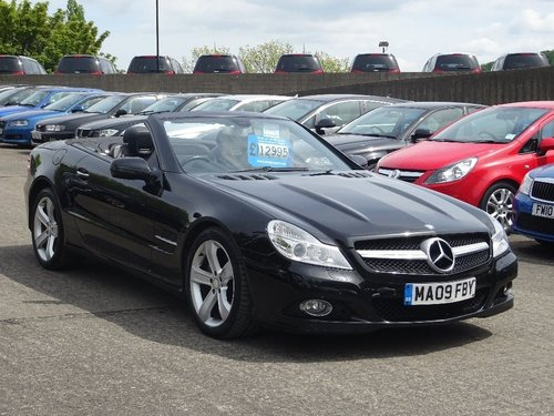 2009 Mercedes-Benz SL Class 3.5 SL350 7G-Tronic 2dr NEW SHAPE HUG For Sale (picture 1 of 6)