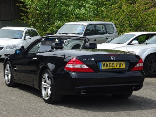 2009 Mercedes-Benz SL Class 3.5 SL350 7G-Tronic 2dr NEW SHAPE HUG For Sale (picture 3 of 6)
