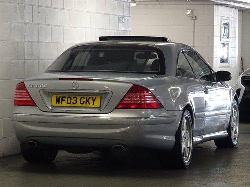 2003 Mercedes-Benz CL 5.5 CL600 2dr V12 BI-TURBO FULL AMG PACK FL For Sale (picture 3 of 6)