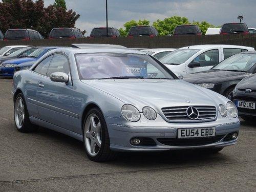 2005 Mercedes-Benz CL 5.0 CL500 2dr FACE LIFT + HUGE SPEC For Sale (picture 1 of 6)