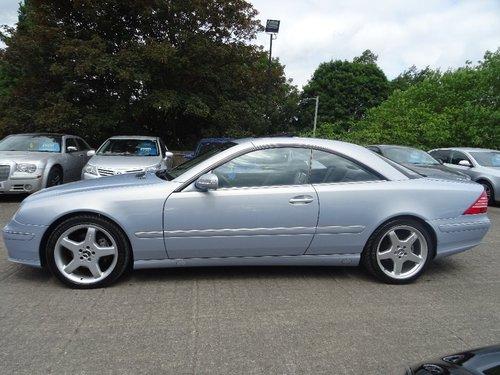 2005 Mercedes-Benz CL 5.0 CL500 2dr FACE LIFT + HUGE SPEC For Sale (picture 2 of 6)