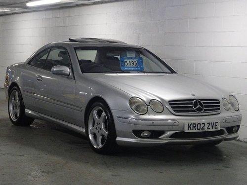 2002 Mercedes-Benz CL 5.4 CL55 Kompressor AMG 2dr V8 HUGE SPEC For Sale (picture 1 of 6)