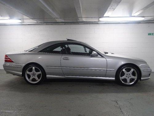 2002 Mercedes-Benz CL 5.4 CL55 Kompressor AMG 2dr V8 HUGE SPEC For Sale (picture 2 of 6)