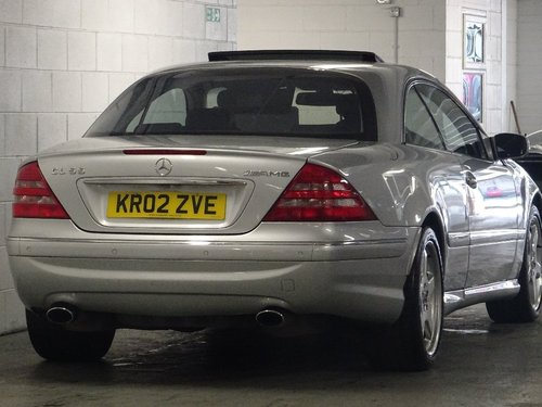 2002 Mercedes-Benz CL 5.4 CL55 Kompressor AMG 2dr V8 HUGE SPEC For Sale (picture 3 of 6)