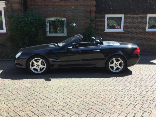 2004 Mercedes Benz SL500 [7] 2dr Tip Convertible, Automatic For Sale (picture 1 of 6)