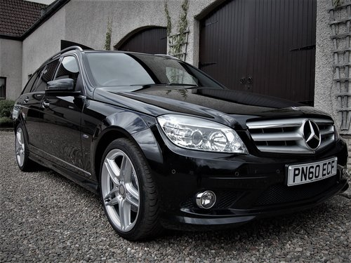 2010 Mercedes C220 Cdi Blueefficiency AMG Estate 60 SOLD (picture 2 of 6)