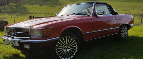 1984 Mercedes Benz 280 SL (R107) For Sale (picture 2 of 6)