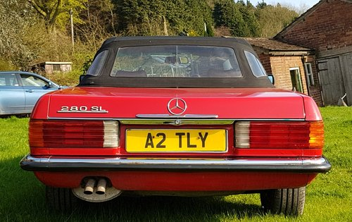 1984 Mercedes Benz 280 SL (R107) For Sale (picture 3 of 6)