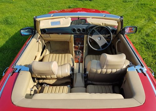 1984 Mercedes Benz 280 SL (R107) For Sale (picture 5 of 6)
