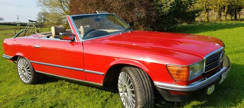 1984 Mercedes Benz 280 SL (R107) For Sale (picture 6 of 6)