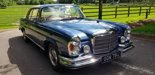 1971 280SE 3.5 Coupe £60,000 spent New interior, wood, paint etc  For Sale (picture 1 of 6)