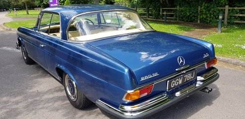 1971 280SE 3.5 Coupe £60,000 spent New interior, wood, paint etc  For Sale (picture 2 of 6)