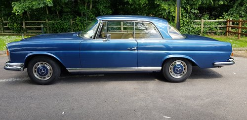 1971 280SE 3.5 Coupe £60,000 spent New interior, wood, paint etc  For Sale (picture 5 of 6)