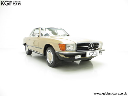 1985 A Mercedes-Benz 280SL with 57,069 Miles and Mercedes History SOLD (picture 1 of 6)