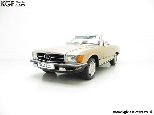 1985 A Mercedes-Benz 280SL with 57,069 Miles and Mercedes History SOLD (picture 2 of 6)