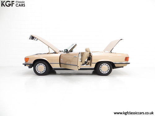 1985 A Mercedes-Benz 280SL with 57,069 Miles and Mercedes History SOLD (picture 3 of 6)