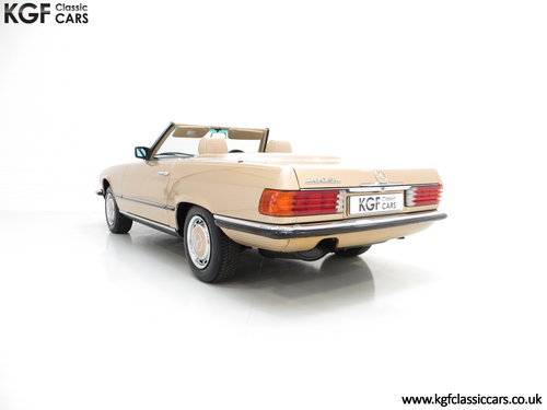1985 A Mercedes-Benz 280SL with 57,069 Miles and Mercedes History SOLD (picture 4 of 6)
