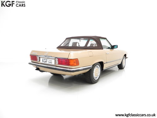 1985 A Mercedes-Benz 280SL with 57,069 Miles and Mercedes History SOLD (picture 5 of 6)