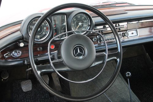 1969 Mercedes Benz 280 SE Coupe W111 / 1. owner!! For Sale (picture 3 of 6)