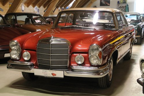 1969 Mercedes Benz 280 SE Coupe W111 / 1. owner!! For Sale (picture 6 of 6)