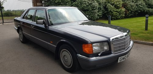 1989 300SE 50,000Miles Immaculate Leather, A/c W126 Low mileage For Sale (picture 1 of 6)