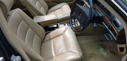 1989 300SE 50,000Miles Immaculate Leather, A/c W126 Low mileage For Sale (picture 4 of 6)