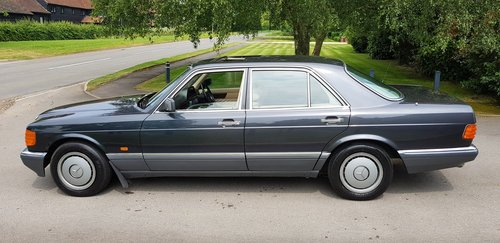 1989 300SE 50,000Miles Immaculate Leather, A/c W126 Low mileage For Sale (picture 6 of 6)
