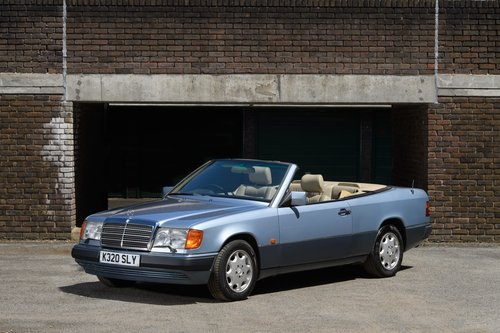 1993 Mercedes-Benz W124 320 CE Cabriolet 2 Owner SOLD (picture 1 of 6)
