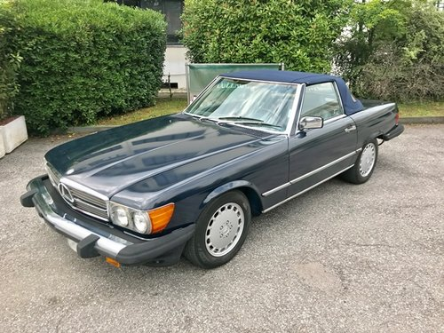 1987 Mercedes Benz - 560 SL (R 107) SOLD (picture 1 of 6)