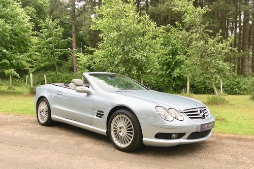 2003 Mercedes Benz SL55 AMG - Top spec, FSH, stunning example SOLD (picture 1 of 6)