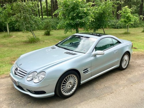 2003 Mercedes Benz SL55 AMG - Top spec, FSH, stunning example SOLD (picture 2 of 6)