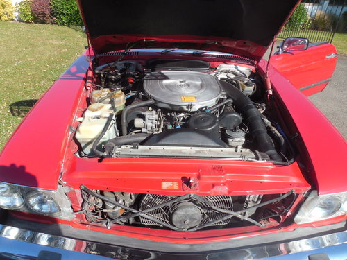 1986 MERCEDES SL 560 R107 For Sale (picture 6 of 6)