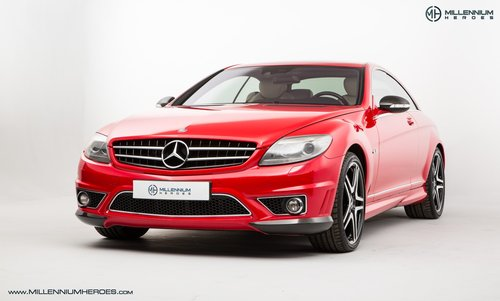 2008 MERCEDES BENZ CL63 // RARE MAGMA RED // AMG DRIVERS PACKAGE For Sale (picture 1 of 6)