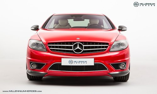 2008 MERCEDES BENZ CL63 // RARE MAGMA RED // AMG DRIVERS PACKAGE For Sale (picture 2 of 6)