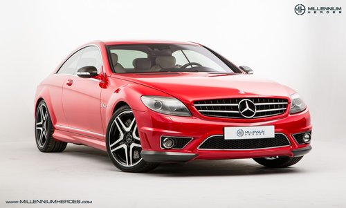 2008 MERCEDES BENZ CL63 // RARE MAGMA RED // AMG DRIVERS PACKAGE For Sale (picture 3 of 6)