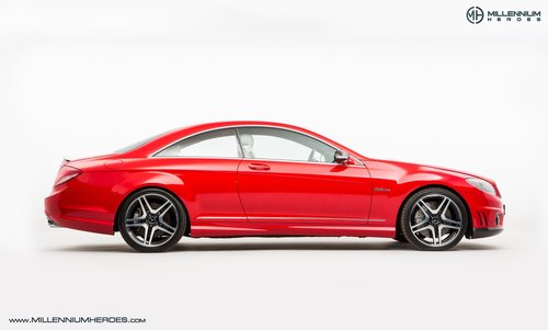 2008 MERCEDES BENZ CL63 // RARE MAGMA RED // AMG DRIVERS PACKAGE For Sale (picture 4 of 6)