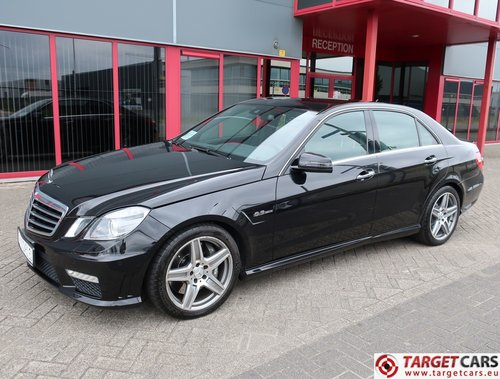 2010 Mercedes E63 AMG V8 6.2L 525HP LHD For Sale (picture 1 of 6)