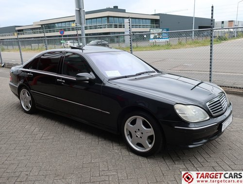 2001 Mercedes S55L AMG 5.0L V8 360HP LHD  For Sale (picture 2 of 6)