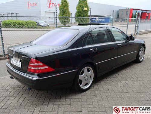 2001 Mercedes S55L AMG 5.0L V8 360HP LHD  For Sale (picture 3 of 6)