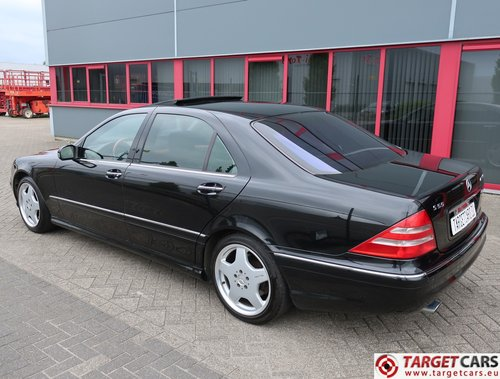 2001 Mercedes S55L AMG 5.0L V8 360HP LHD  For Sale (picture 4 of 6)
